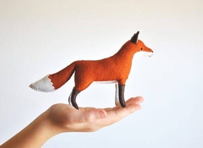 Felt Fox DIY Hand Sewing Kit