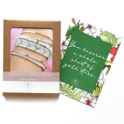 Lenny & Eva - Friendship Bracelet Kit - Blush