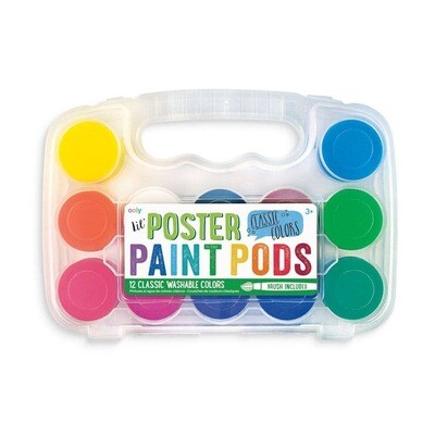 OOLY - Lil' Paint Pods Regular Basic Poster Paint