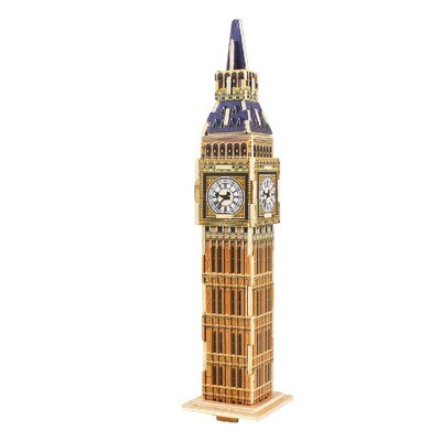 3D Wooden Puzzle: Big Ben