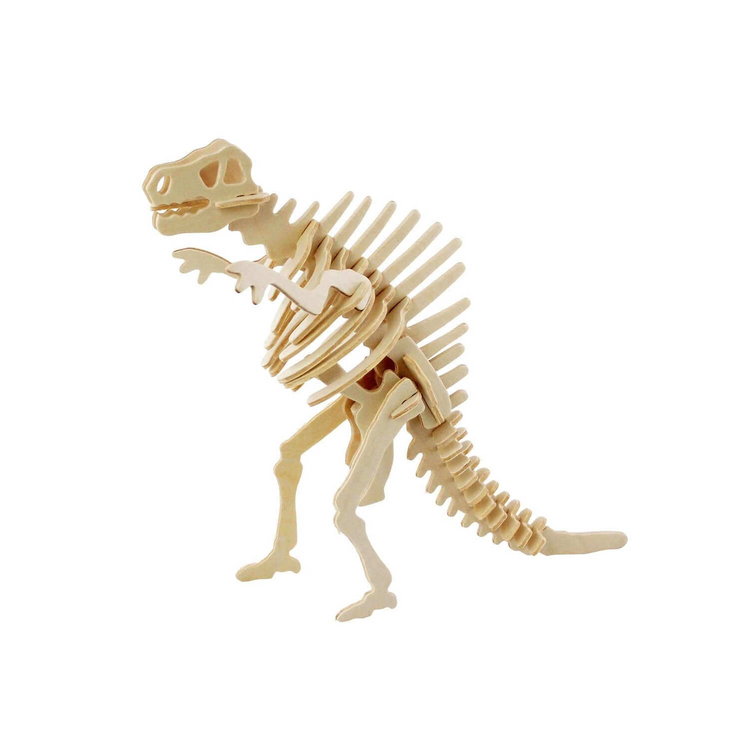 3D Wooden Puzzle: Spinosaurus