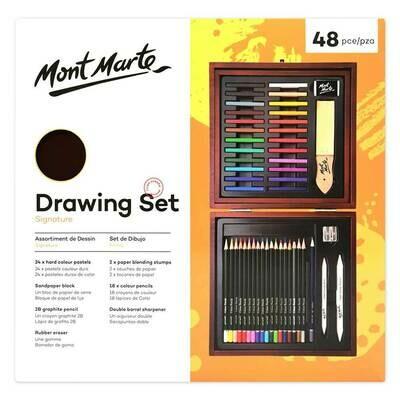 MONT MARTE Drawing Set 48pc