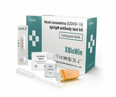 BioWin Novel COVID-19 IgG/IgM Antibody Test 1 шт.