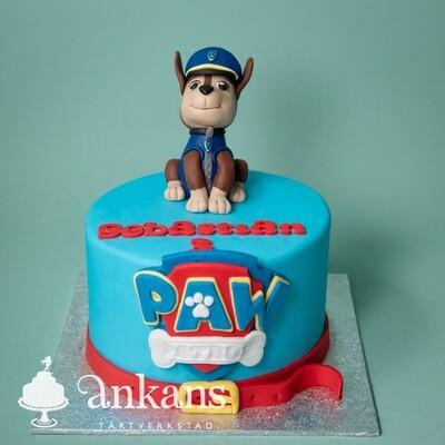 Paw Patrol-tårta