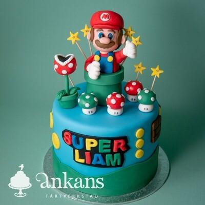 Super Mario tårta