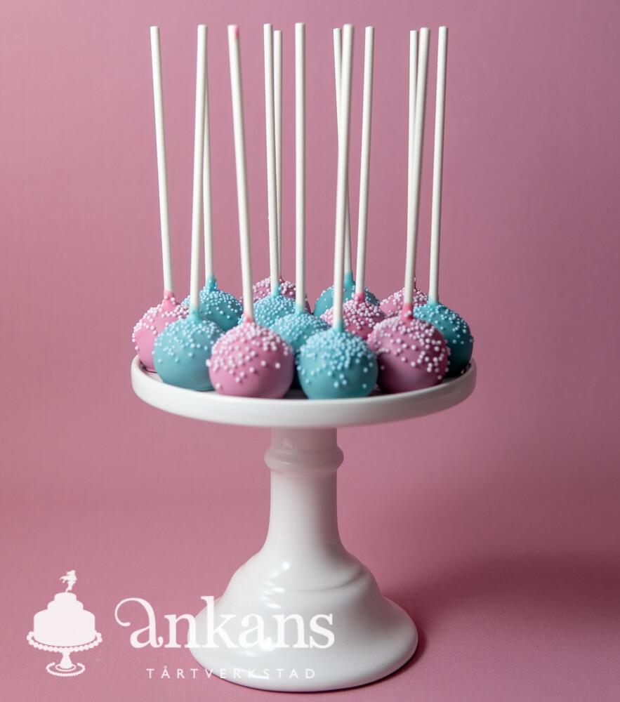 Cakepops med strössel