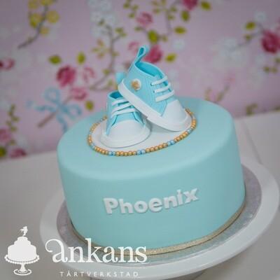 BabyConverse tårta