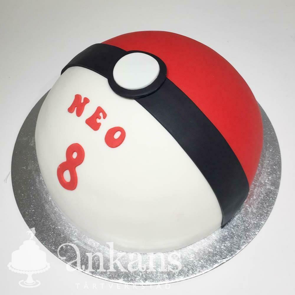 Pokémon tårta - BOLL