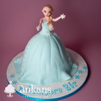 Elsatårta med docka