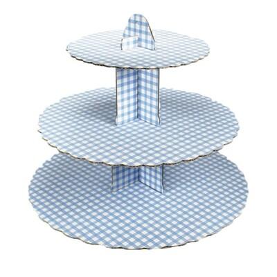 Cupcakeställning blå