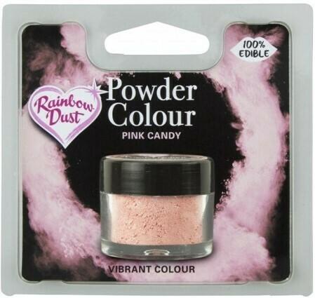 Rainbow Dust Pulverfärg Pink Candy