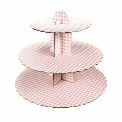 Cupcakeställning rosa