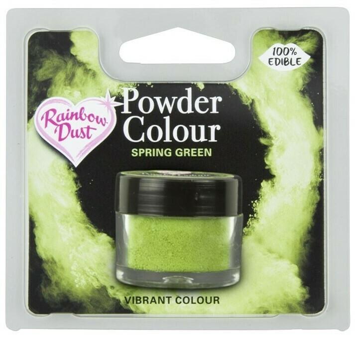 Rainbow Dust Pulverfärg Spring Green