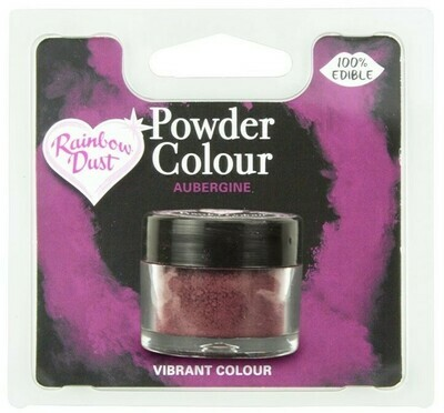 Rainbow Dust Pulverfärg Aubergine
