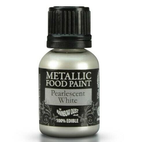 Rainbow Dust Metallicfärg Pearl White