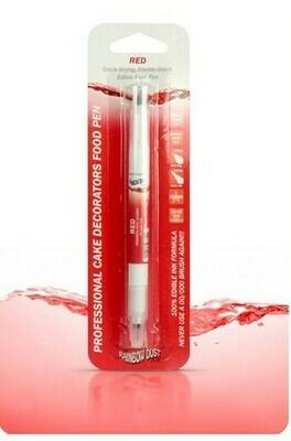 Livsmedelspenna - Röd