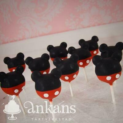 Cakepops - Musse