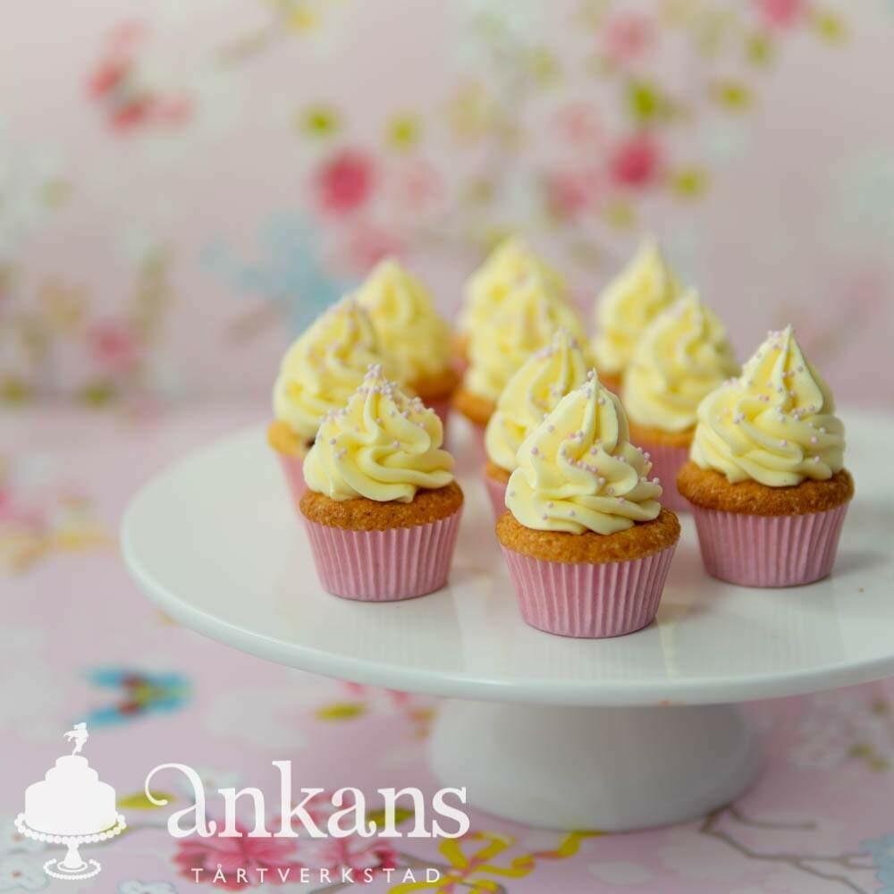 Minicupcakes med strössel