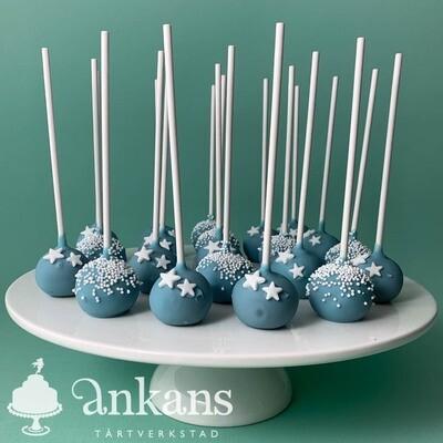 Cakepops med strössel och stjärnor