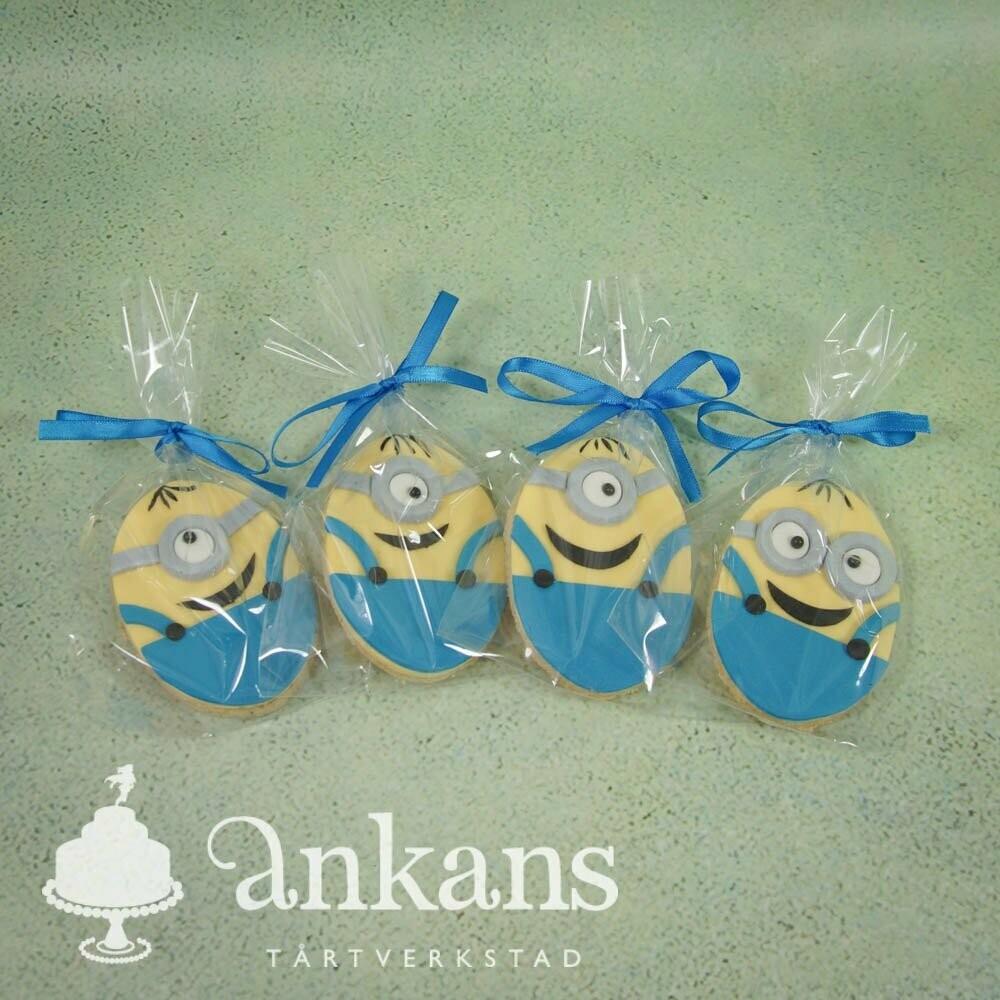 Dekorerade kakor - Minioner