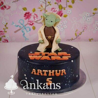 StarWars tårta med Yoda