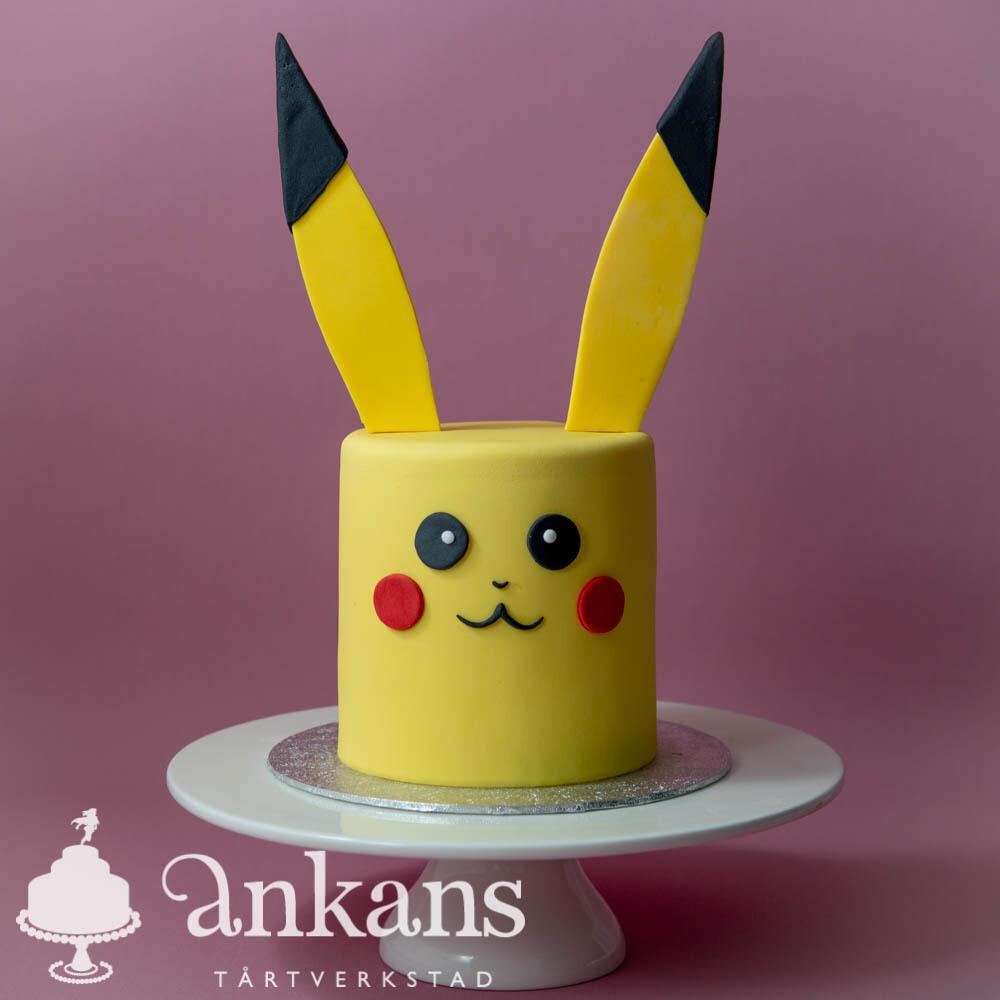 Pikachu Pokémon tårta