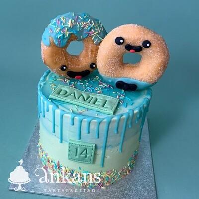 Dounut tårta