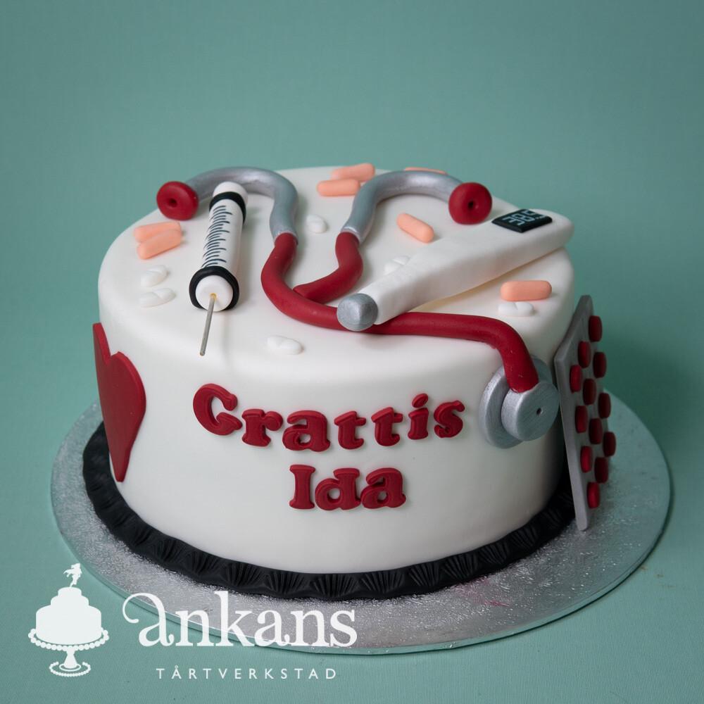 Sjuksköterske-tårta