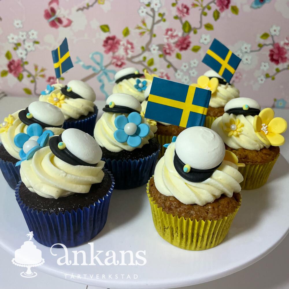 Student cupcakes