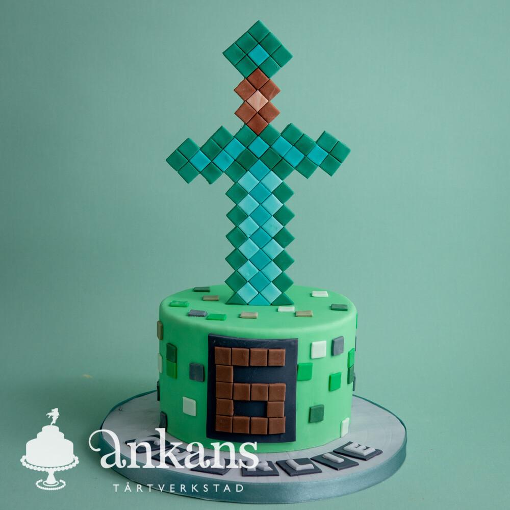 Minecraft med svärd