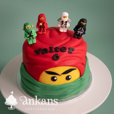 Ninjago - tårta