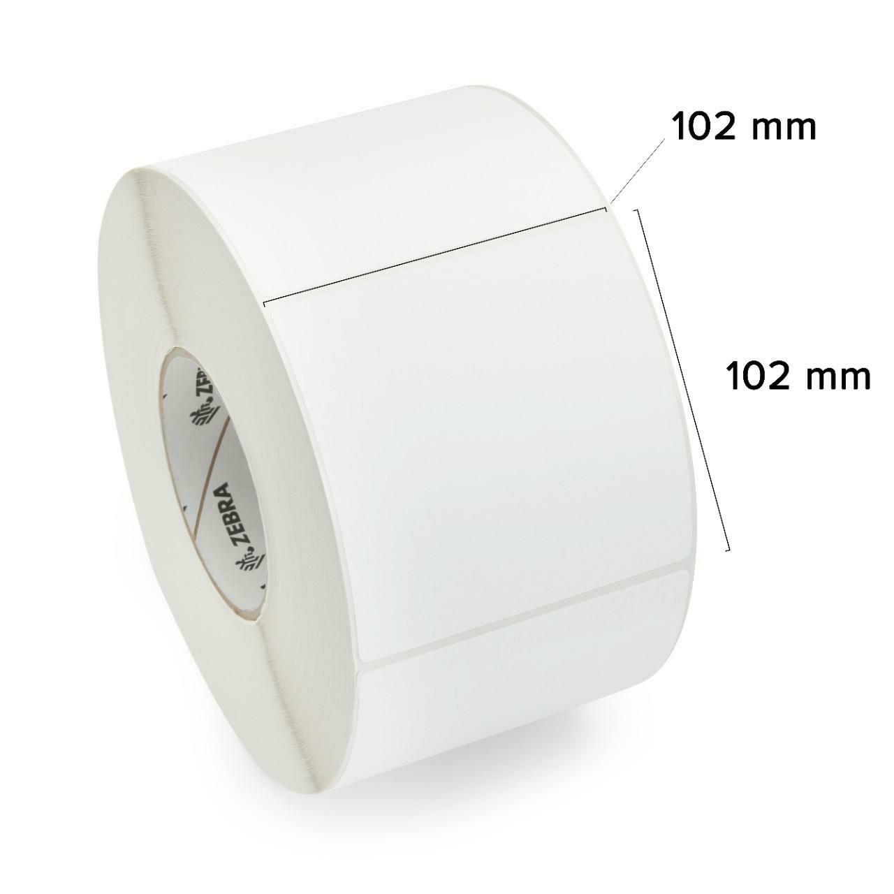 76523 Термотрансферная этикетка 102 мм х 102 мм