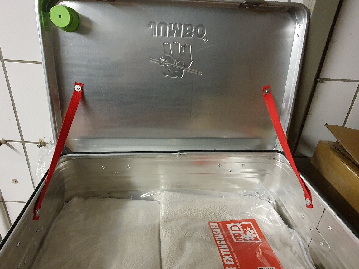 "Battery-Box ""Battery-safe"" für Li-Ionen Akkus"