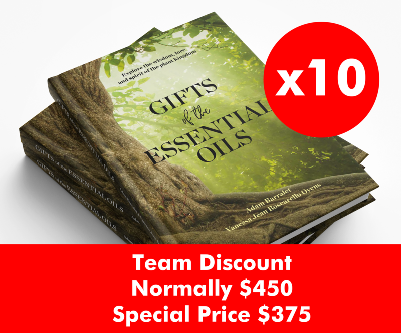 Gifts of the Essential Oils Book - 10pack - Postage not included