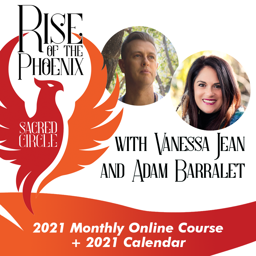 Rise of the Phoenix Sacred Circle - 2021 e-Course with Calendar ***Please do not order with other items ***