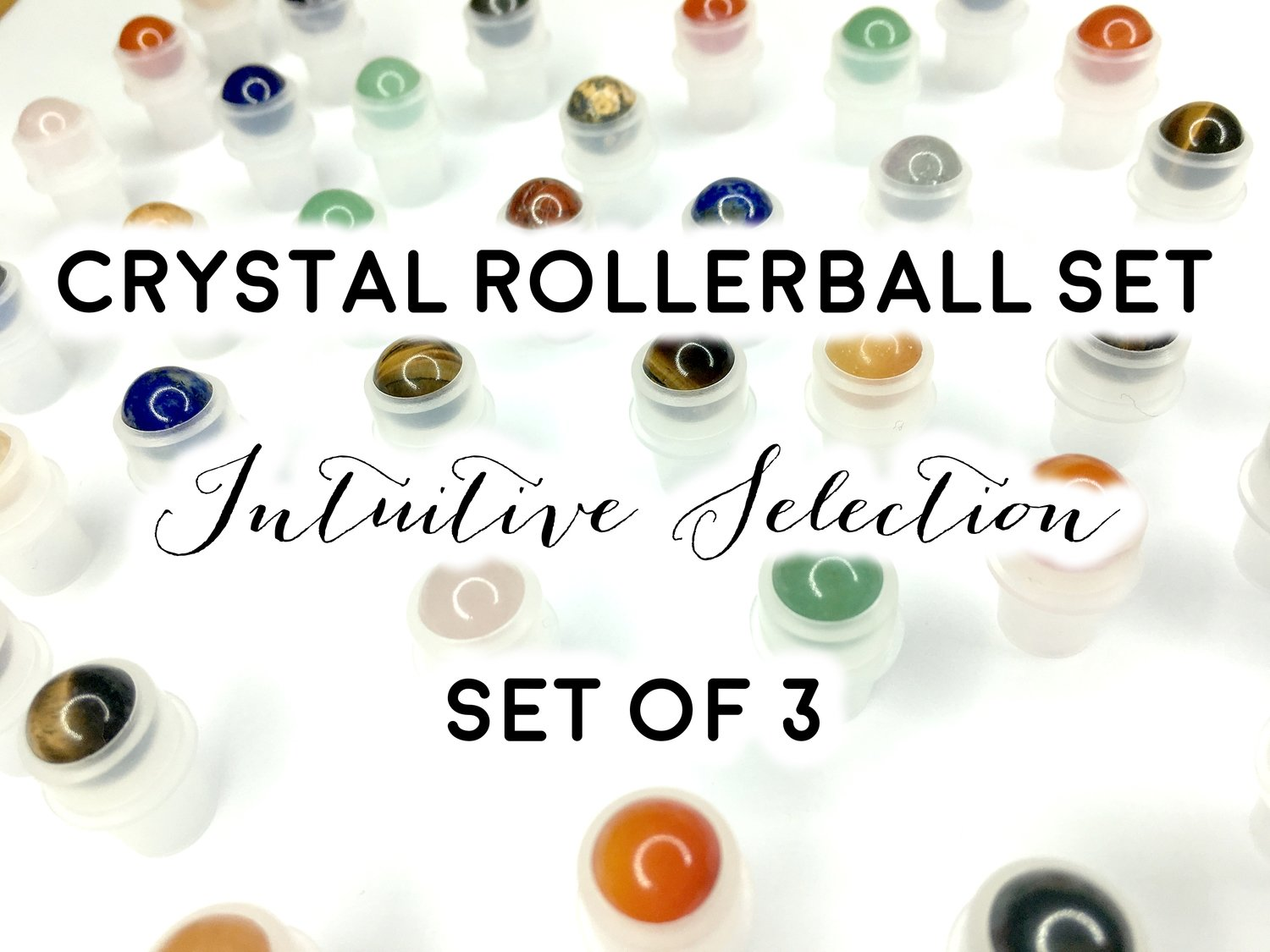 Crystal Rollerballs Set: Intuitive Selection of 3