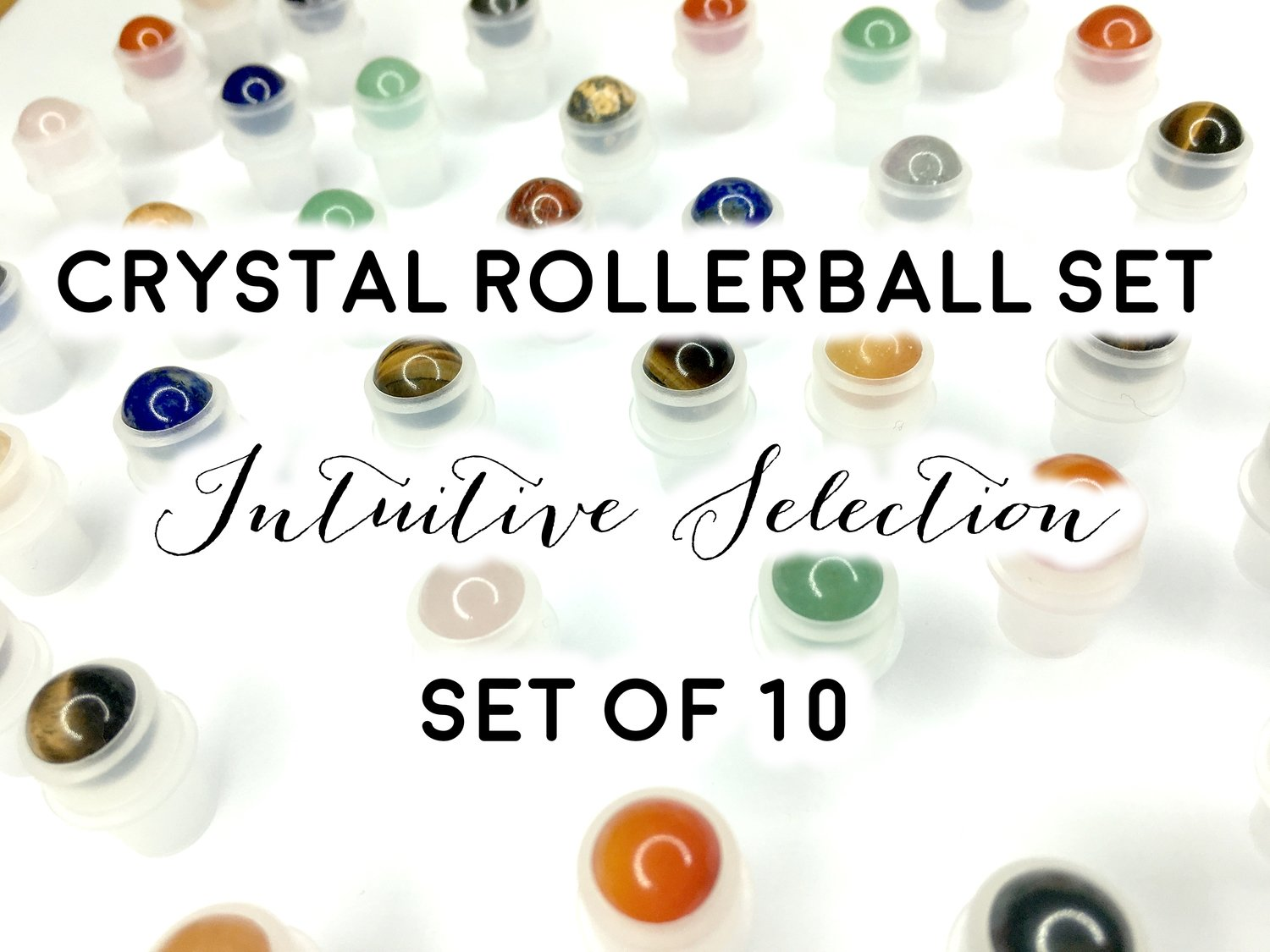 Crystal Rollerballs Set: Intuitive Selection of 10