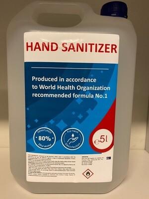 Hand Sanitiser - 5L
