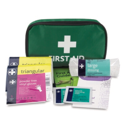 HSE 1 Person Kit - Green Pouch