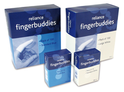Finger Buddies White - Standard (10)