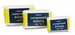 Compressed Dressings No 13