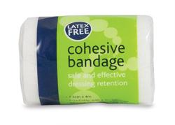 Cohesive Bandages Latex Free (7.5 cm)