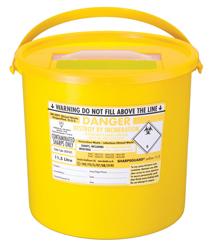 Bio Hazard Sharps Box 0.6 L