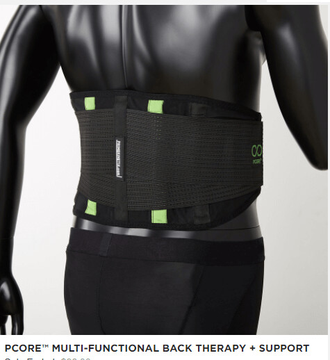 PCORE™ MULTI-FUNCTIONAL BACK THERAPY + SUPPORT