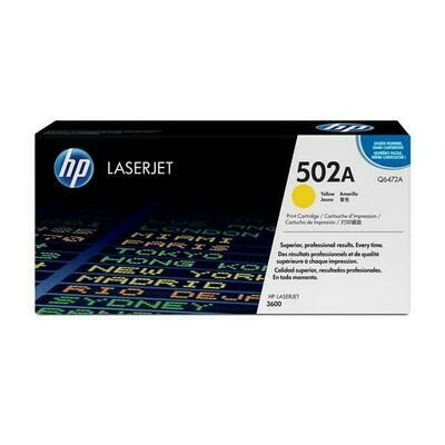 HP 502A Yellow Q6472A