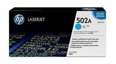HP 502A Cyan Q6471A Toner Cartridge