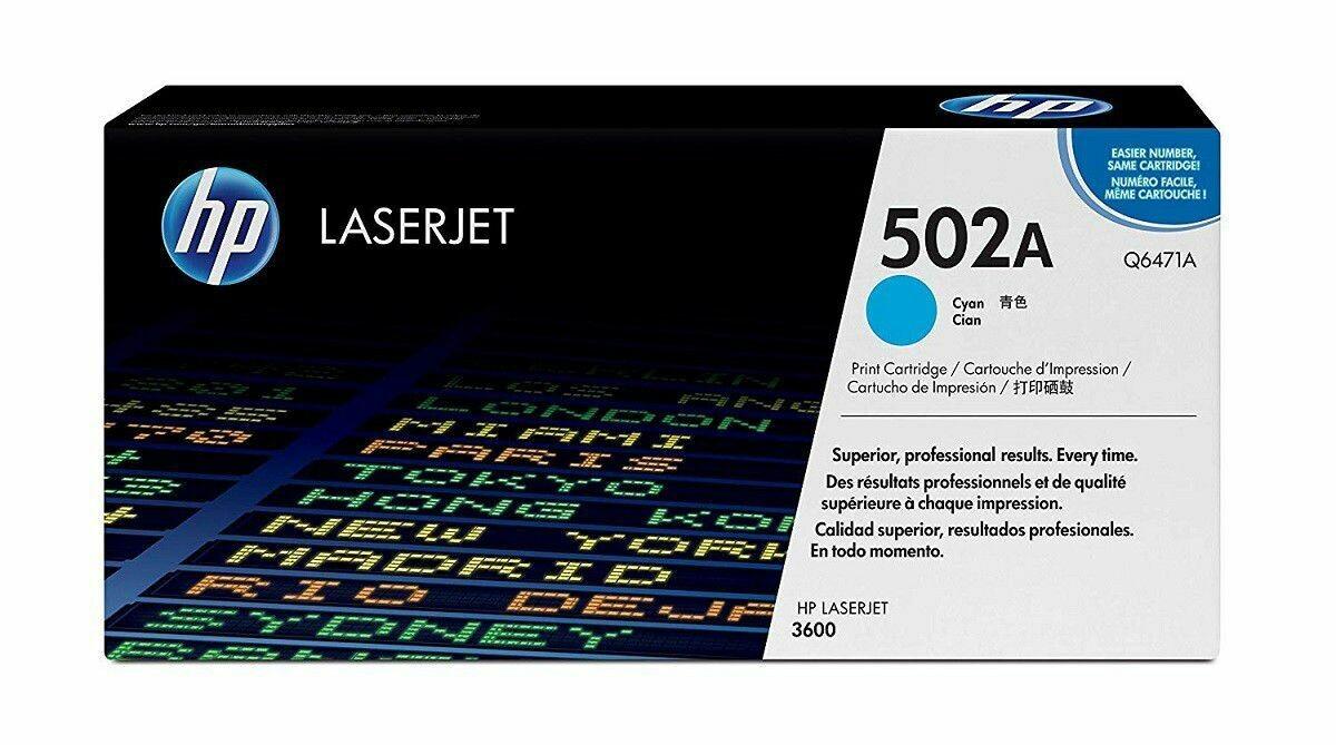 HP 508A Cyan Original LaserJet Toner Cartridge CF361A