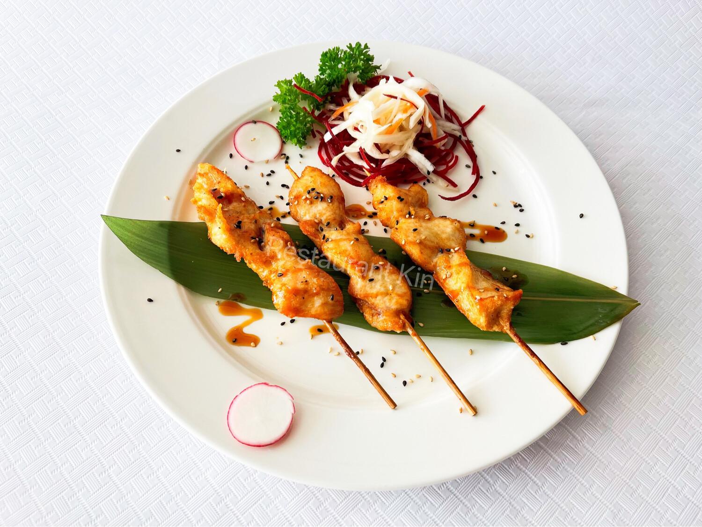 Yakitori de poulet 3 pièces