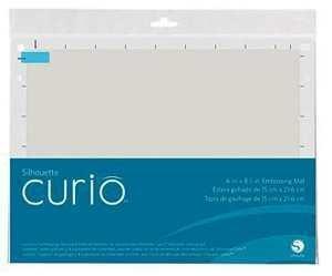 CURIO-EMBOSS-6 -Foglio di trascinamento per Embossing 21,50cm x 15,20cm per Curio
