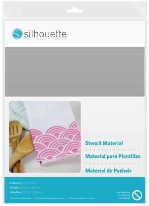 MEDIA-STENCIL-NON - Fogli per stencil riutilizzabili, non adesivi dim. 21,5 cm x 28cm